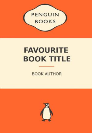 Customized Penguin Book Art Pint - Wall Art Print Poster Any Size - Geekery